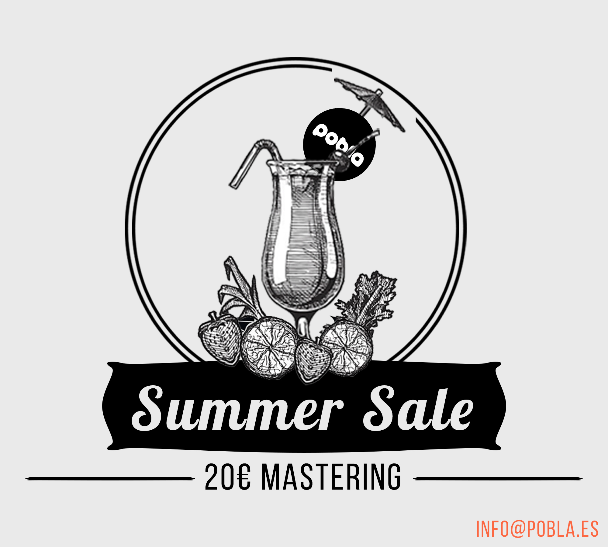 July 30th — 20€ MASTERING SUMMER SALE!